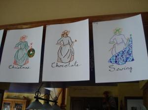 three housewyfs